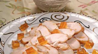Как приготовить грудку индейки с желе из хереса