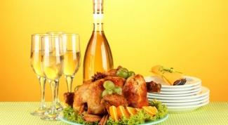 Как украсить курицу к 8 марта