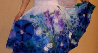 Как сшить короткую юбку полусолнце на резинке