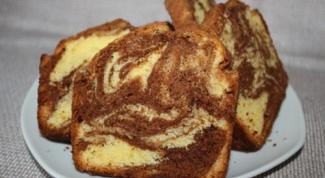 Мраморый кекс
