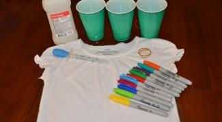5 способов расписать футболку