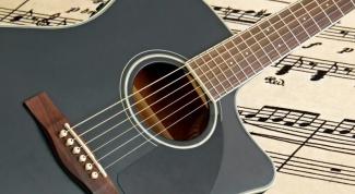 Какие струны гитары каким нотам соответствуют