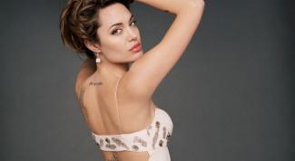 Сколько у Анжелины Джоли татуировок