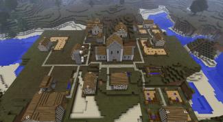 Как найти деревню в minecraft