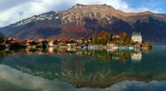 Берн и Женева - две столицы Швейцарии
