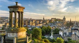 Великолепная столица Шотландии