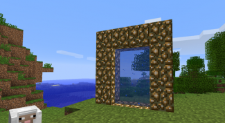How to make a town portal in Minecraft without mods