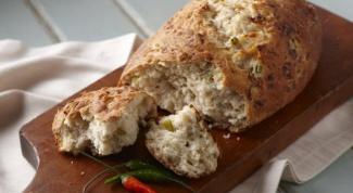 Как испечь хлеб с болгарским перцем