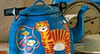 Как расписать эмалированный чайник акриловыми красками