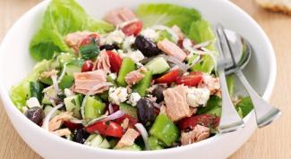 Как приготовить салат из тунца