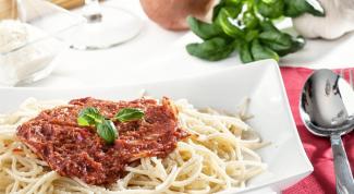 Рецепты соусов для спагетти