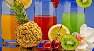 Is it possible when dieting to drink the juice