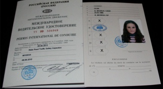 How to look like an international driving license