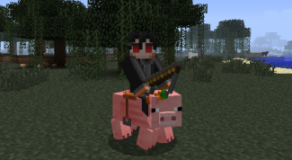 How to make a Minecraft saddle