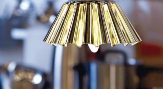 Как сделать светильник из формы для выпекания