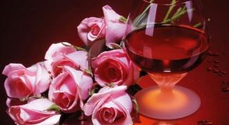 Как приготовить вино из роз