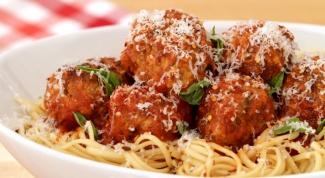 Как приготовить мясные шарики в итальянском стиле
