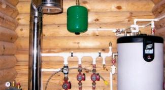Как провести свет, газ, воду в бревенчатый дом