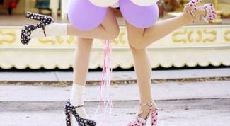 Как носить устойчивый каблук