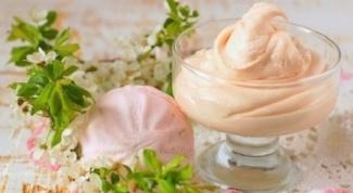 Как приготовить зефирный крем