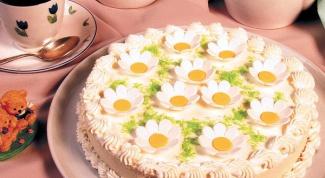 """Торт """"Ромашковое поле"""""""
