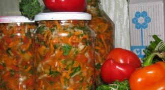 Овощная заправка для супа