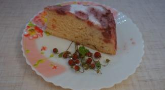 Пирог из йогурта