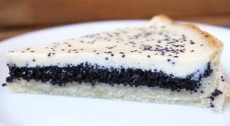 Как приготовить маковый пирог со сметанным кремом