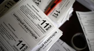 Как прошел референдум на востоке Украины