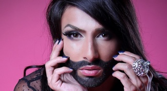 Who is Conchita Wurst and why is she a beard