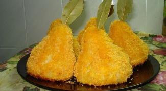 Как приготовить картофельные груши