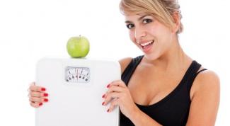 Как сбросить 1 кг