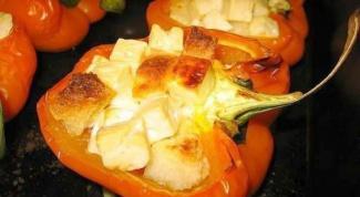 Как приготовить закусочные лодочки из болгарского перца