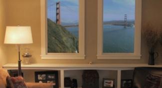 Как использовать фальш-окно в интерьере