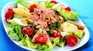 Оригинальный салат «Нисуаз»