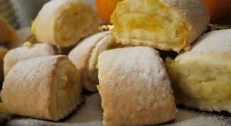Как приготовить песочное печенье с апельсиновой начинкой