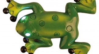 Лягушка-попрыгушка с магнитом