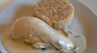 Курица с рисом по-парижски