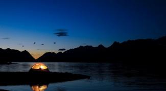 Как отдохнуть на море с палаткой