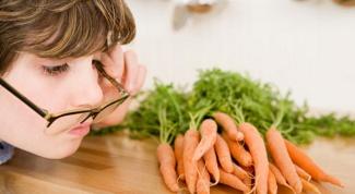 Продукты, полезные для здоровья глаз