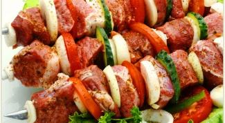 Секреты приготовления вкусного шашлыка:  рецепты маринадов