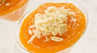 Самбук из хурмы, яблок и моркови