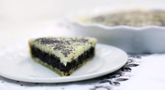 Как приготовить тарт со сметанным кремом и маком