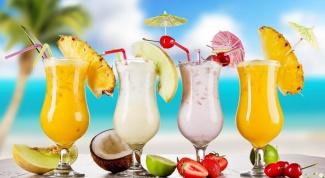 Молочные коктейли в блендере