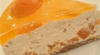 Как приготовить абрикосовый торт с йогуртово-кофейным кремом