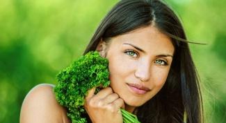 Маски для лица с садовой зеленью