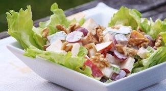 Салат низкокалорийный овощной