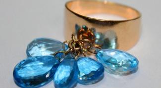 Ювелирные украшения с топазом