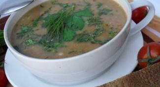 Суп-пюре с чечевицей