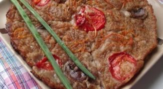 Как приготовить гречневый закусочный пирог